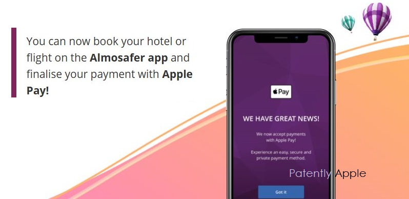 1 X Cover Almosafer pay with Apple Pay