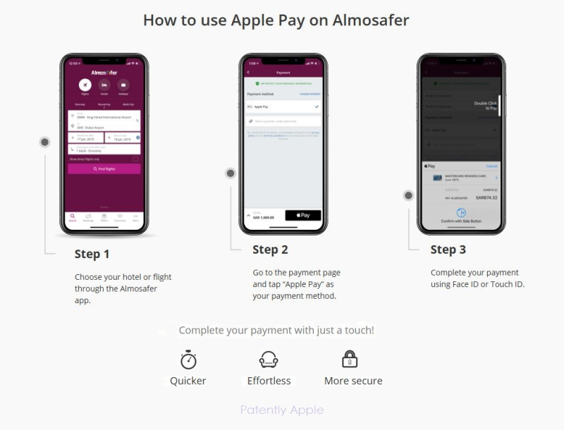 2 X almosafer apple pay instructions