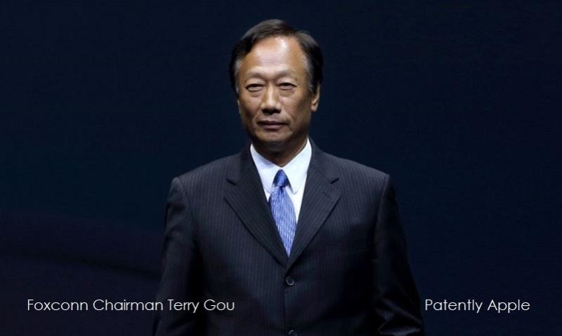 1 cover Terry Gou Foxconn chairman  founder