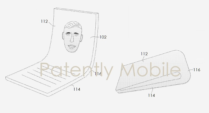 1 cover google folding phone patent application  Patently Mobile report