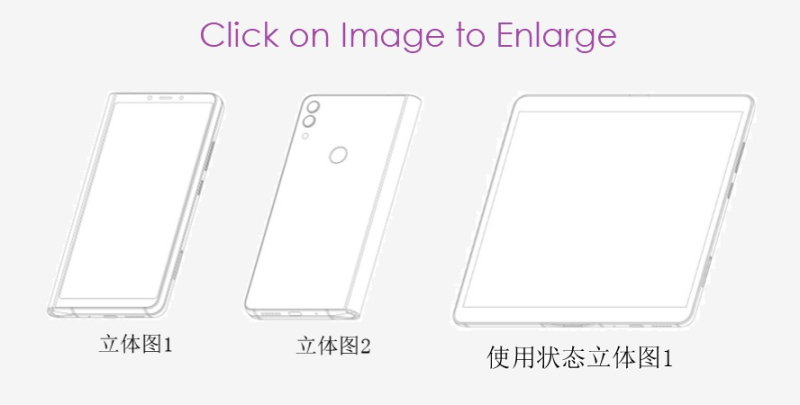 4 ZTE patent figs for folding phone Patently Mobile report