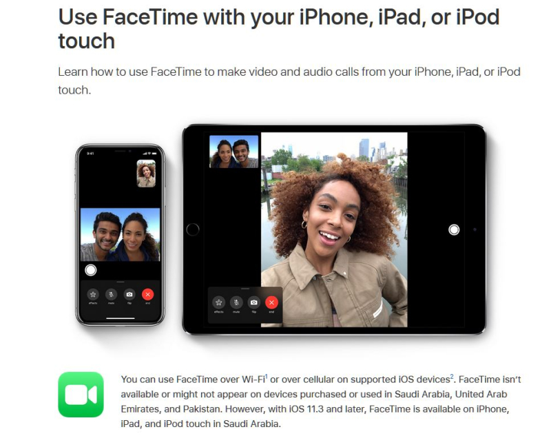 2 fACETIME IMAGE USED IN MAXELL VS APPLE LAWSUIT MAR 2019 - PATENTLY APPLE IP REPORT