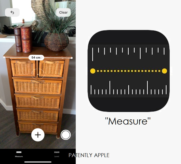 4 - Apple icon for vr app Measure  Patently Apple IP report March 26  2019