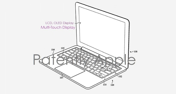 1 X cover Future MacBook patent
