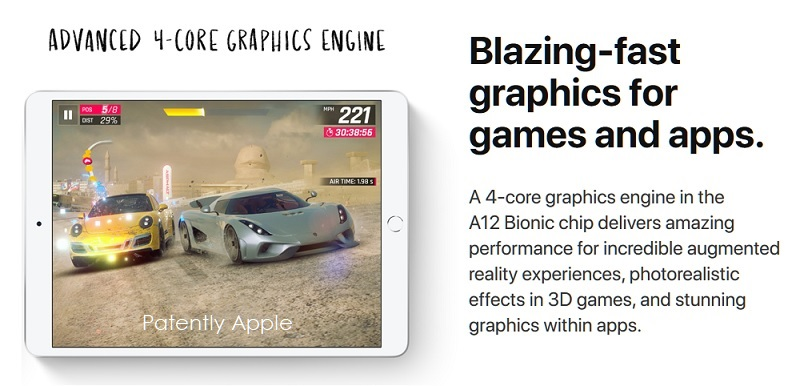 Image result for iPad Air  Blazing‑fast graphics for games and apps.