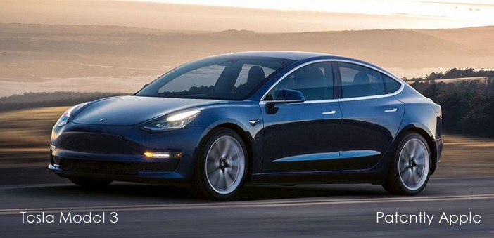 1 cover Tesla Model 3