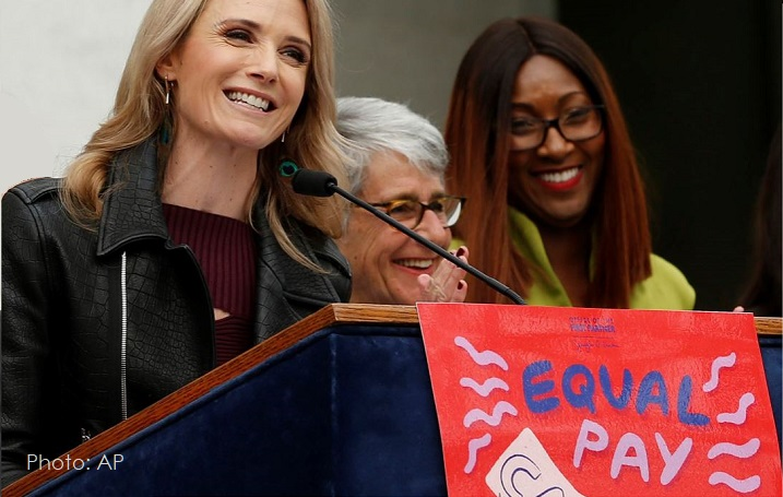 1 x cover Equal Pay California