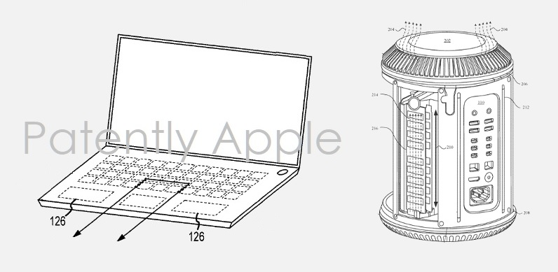 1 X Cover dual display MacBook  Mac Pro granted patents for Apr 2  2019  Patently Apple report