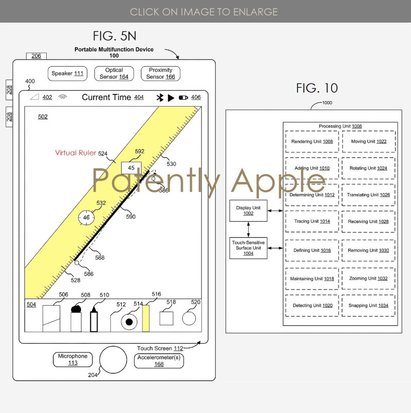3 Virtual Ruler for iPad wins patent  Patently Apple IP report apr 9  2019