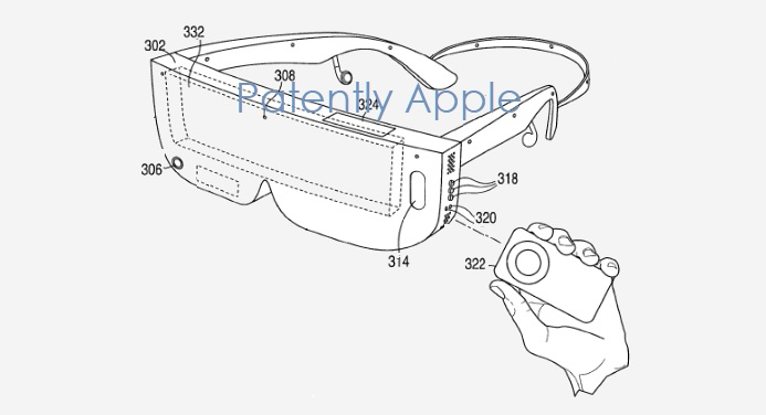 1 X Cover Apple's HMD updated via a continuation patent