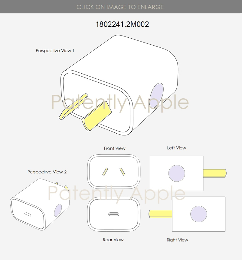 3 AUSTRALIA - NEW ZEALAND ADAPTER DESIGN PATENT - PATENTLY APPLE IP REPORT APRIL 20 2019