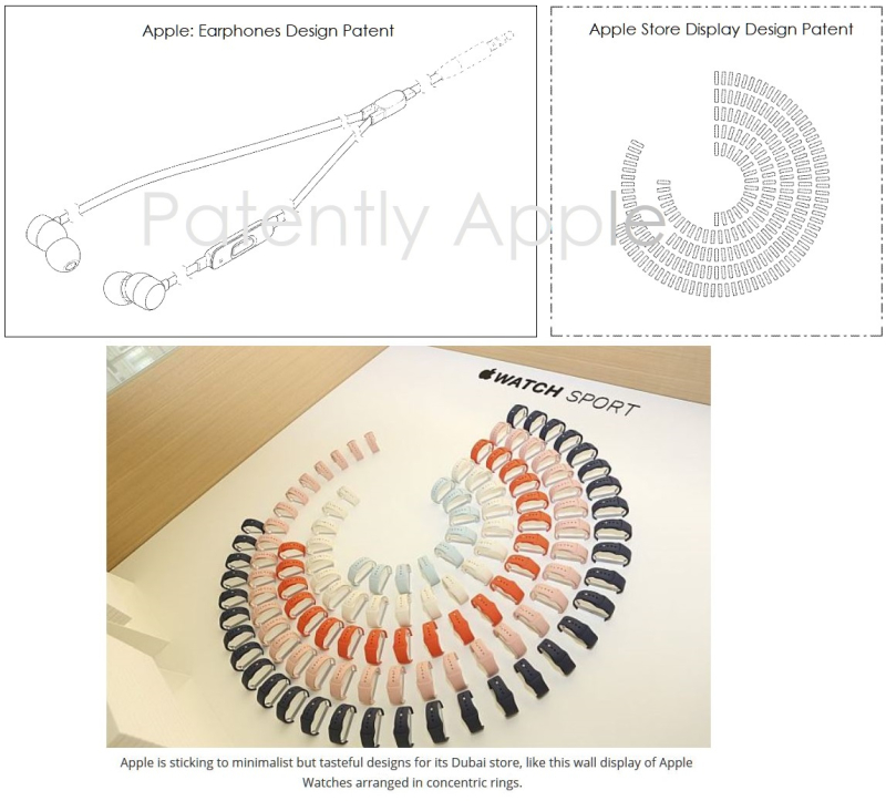 5 X Apple Design patents for Apr 16  2019 - Patently Apple IP report