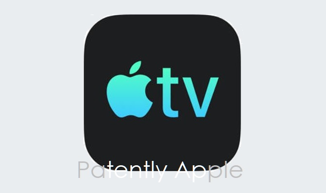 4 X Apple Image of Apple TV in black & blue for figurative Trademark in Hong Kong