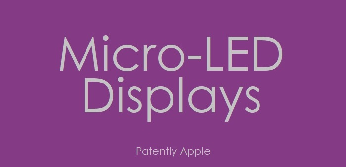 1 cover Micro-LED DISPLAYS