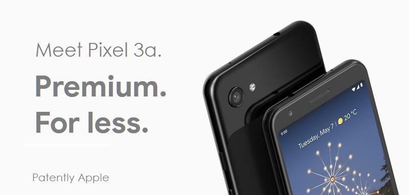 1 X Cover Google IO 2019 - meet Pixel 3a