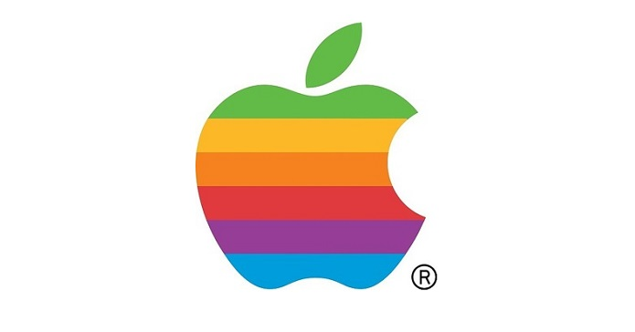 1 x Final  apple_rainbow_logo