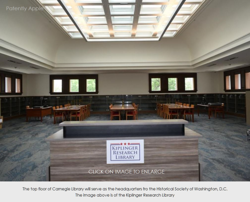 4 inside carnegie library Apple  May 11  2019