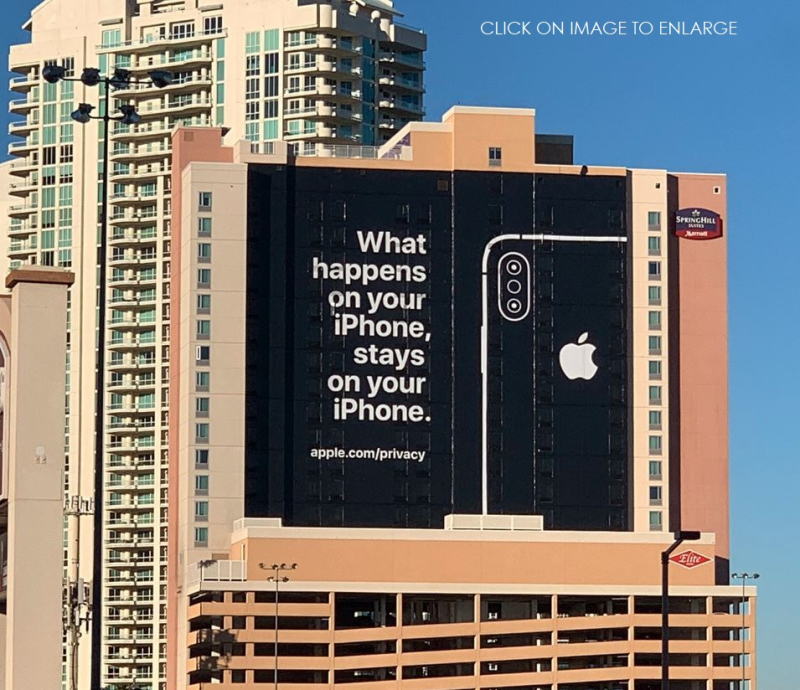3 Apple Privacy Banner Vegas CES 2019