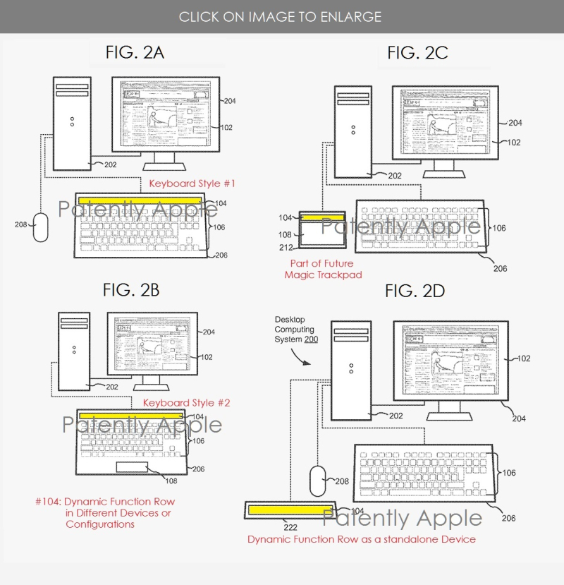 2 Apple Touch Bar wins patent  Bar could extend to other devices - Patently Apple IP Report