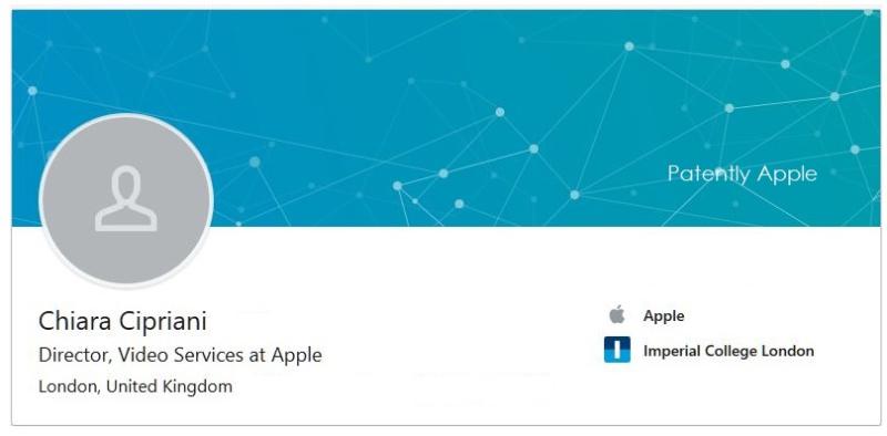 2 linkedin disney exec now with Apple