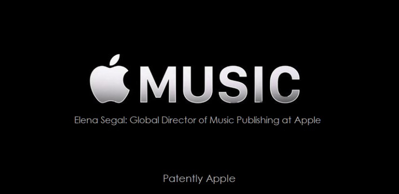 1 C cover Apple Music Global Director of Apple Music's publishing division