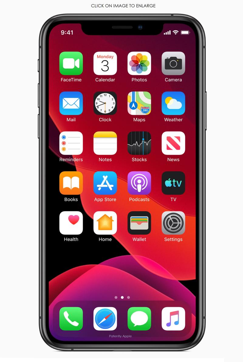 2 Apple-ios-13-home-screen-iphone-xs