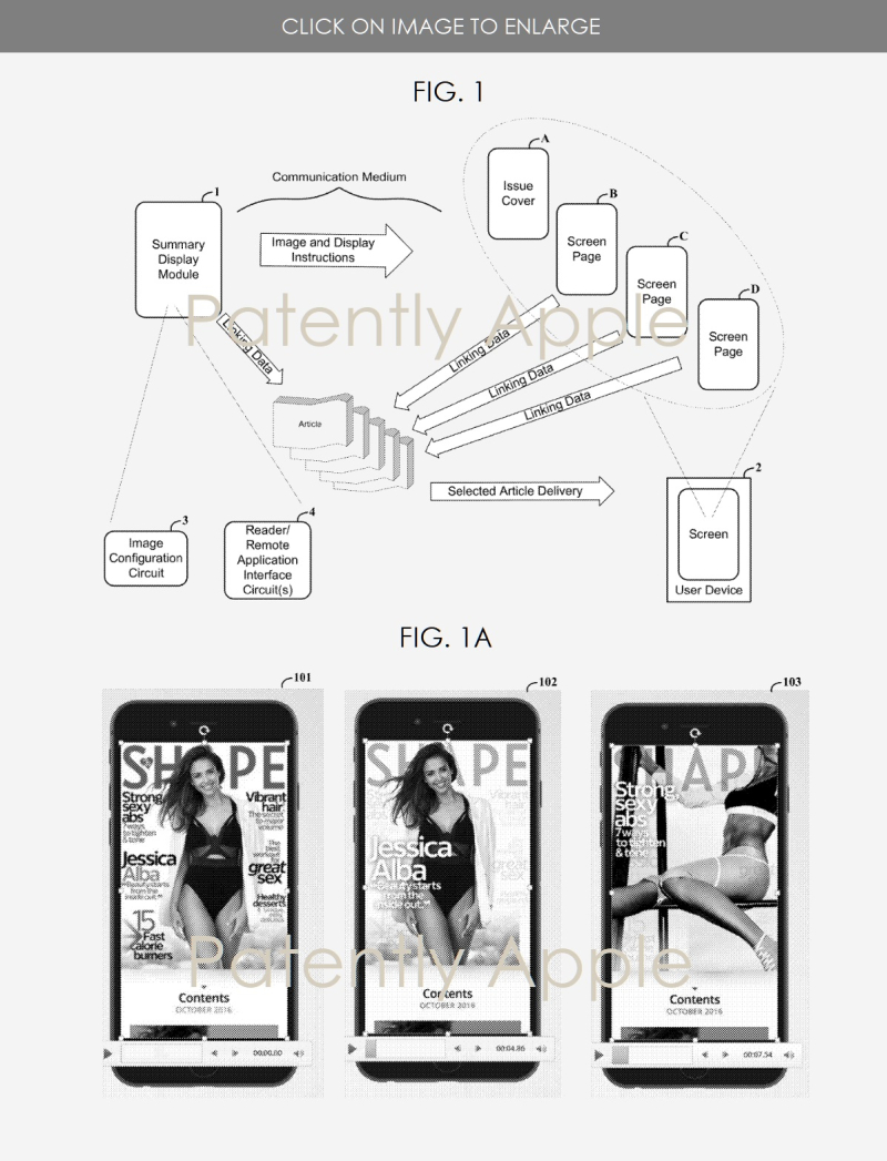 3 Apple News + patent originally from Texture - Patently Apple IP report June 4  2019