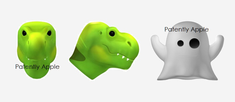 1 X Cover - 8 more Animoji Related Design Patents issued to Apple in Hong Kong  Patently Apple IP Report