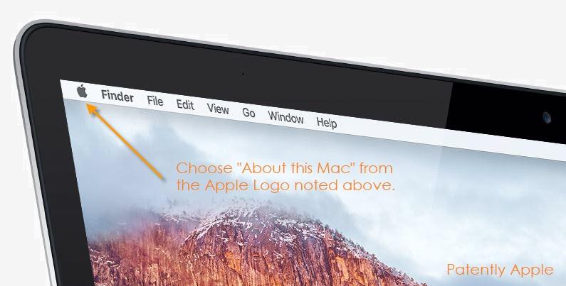 2 X click on Apple logo