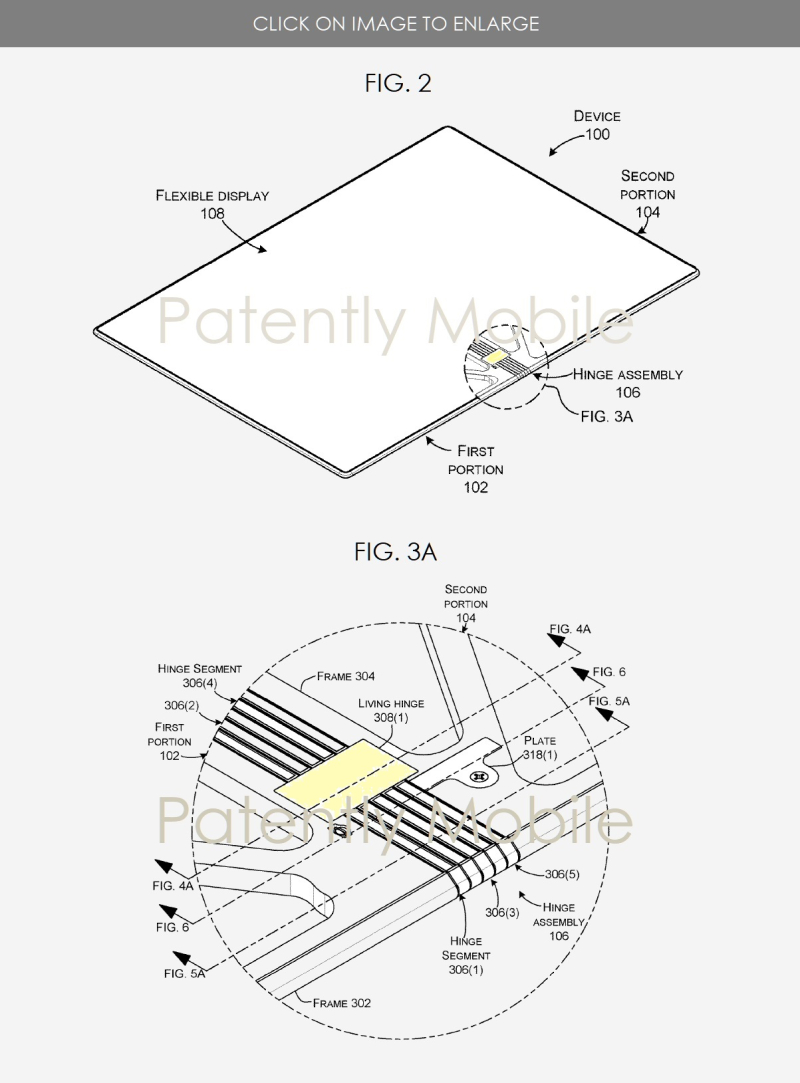 3 Microsoft hinge for foldable device