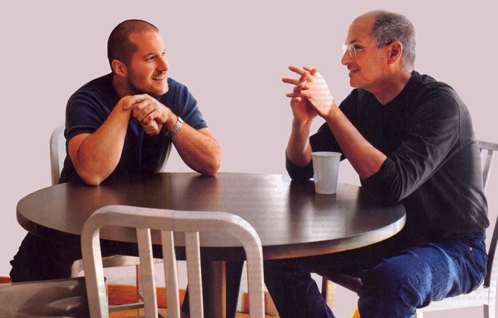 1 X cover Steve Jobs  Jony Ive  loved design