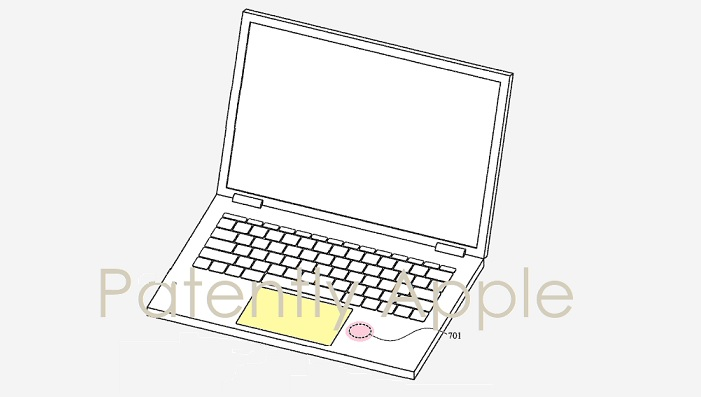 1 X Cover Apple Macbook with biosensor built-in