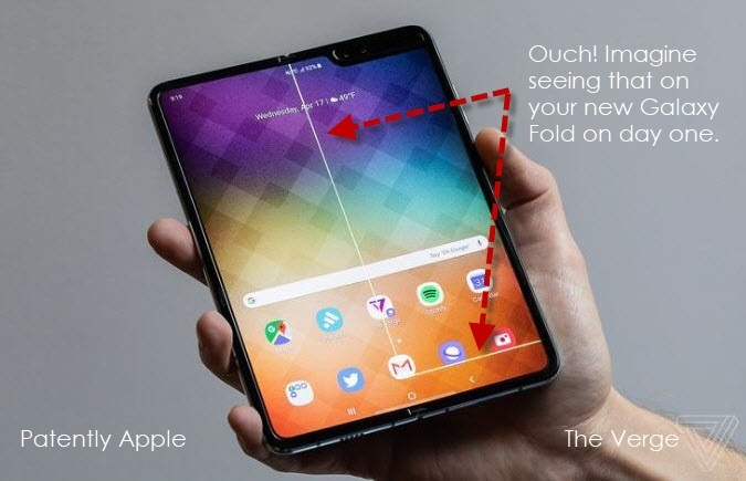 2 x Samsung's Galaxy Fold starts with a crash
