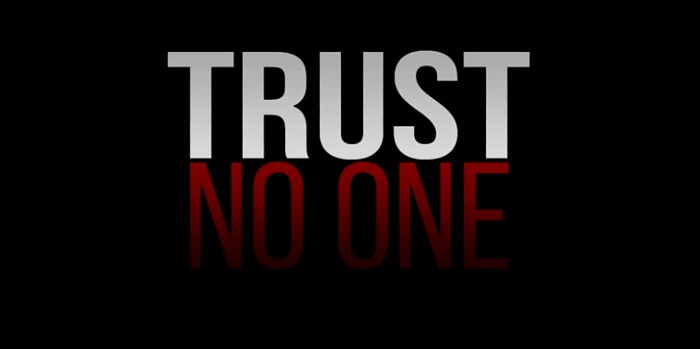 1  x cover trust no one