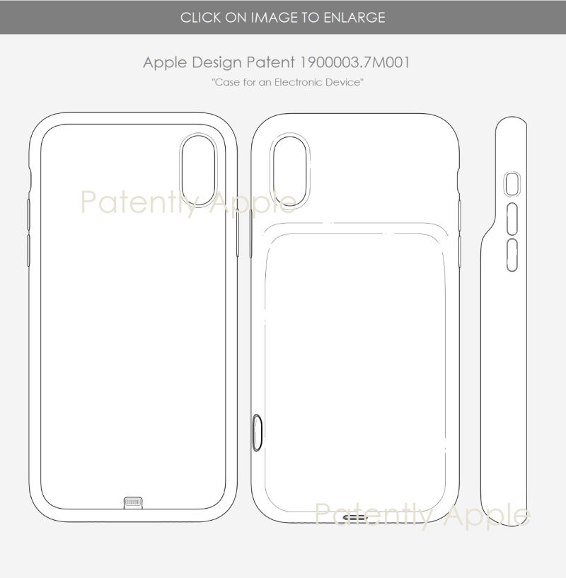 4 Apple design patent HK for iPhone case - Battery  - Patently Apple IP Report July 20  2019