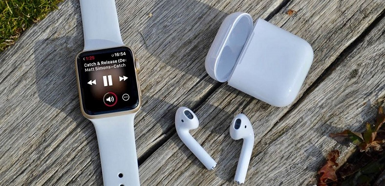 1 x Cover Apple Watch and AirPods
