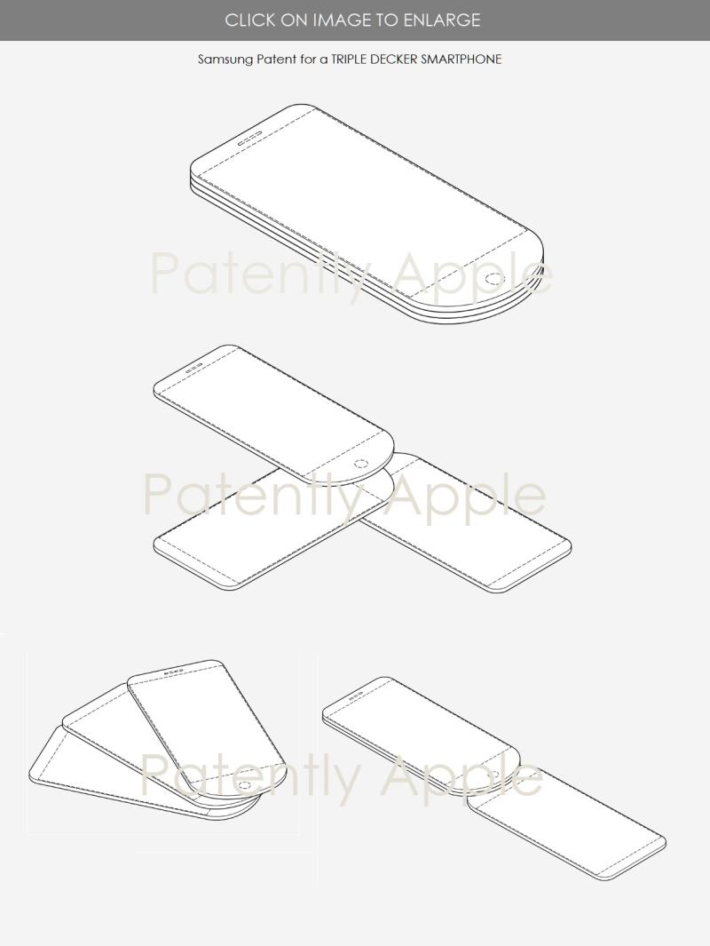 2 samsung triple display smartphone