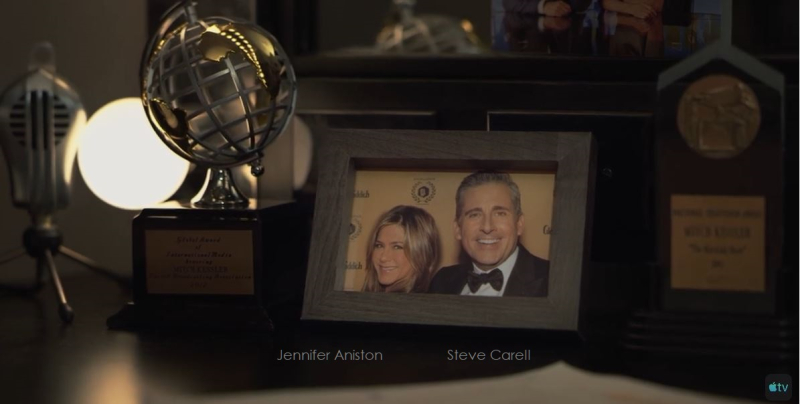 2 x The Morning Show  Aniston and Carrel