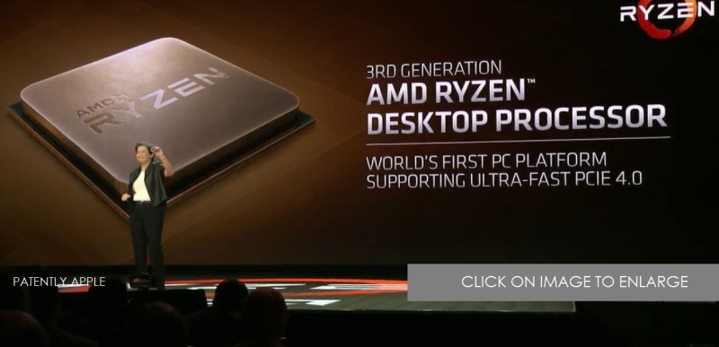 1 X COVER AMD RYZEN 3RD GEN PROCESSORS  COMPUTEX ON MAY 27  PATENTLY APPLE REPORT