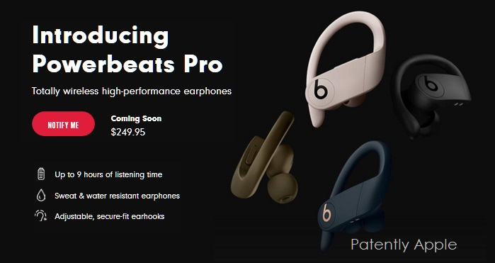 1 X Cover Powerbeats Pro coming on beats by dre website