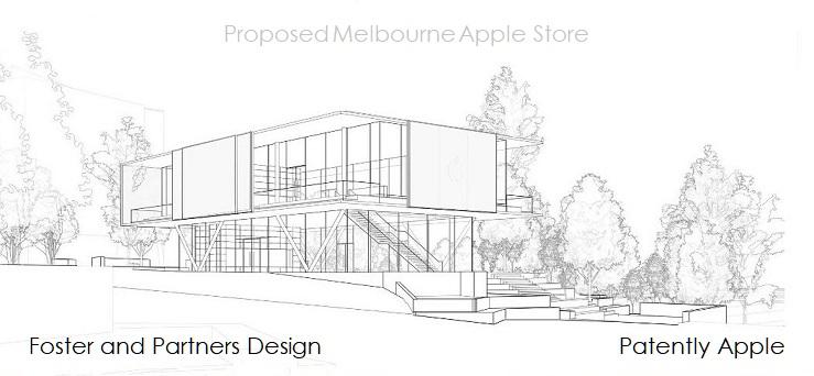 1 XFINAL cover Apple Store design for Melborne Australia Scrapped