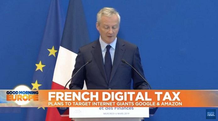 France is First to Introduce a new Digital 'GAFA Tax' (Google, Apple