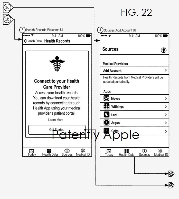 4 Apple records patent fig. 21  Patently Apple report apr 8  2019