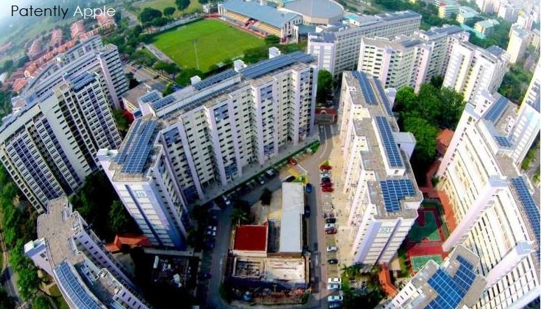 1 x cover singapore apple solar