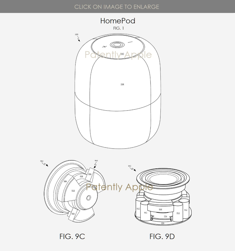 2 homepad granted patent for subwoofer & magnet  Patently Apple IP Report