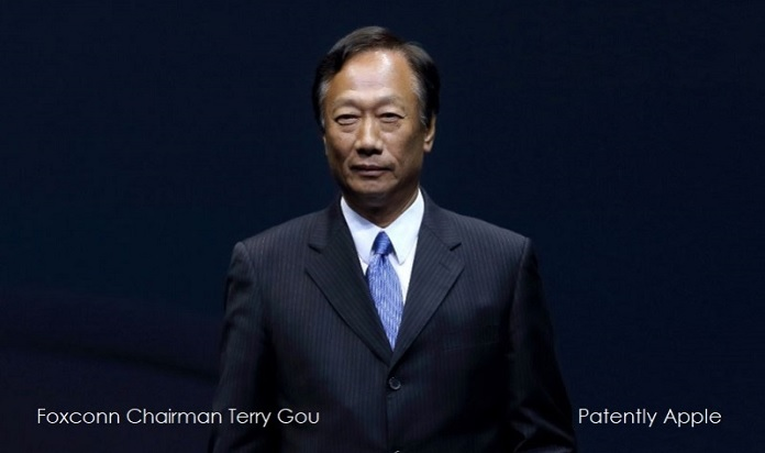 1 X Cover Foxconn Chairman Terry Gou