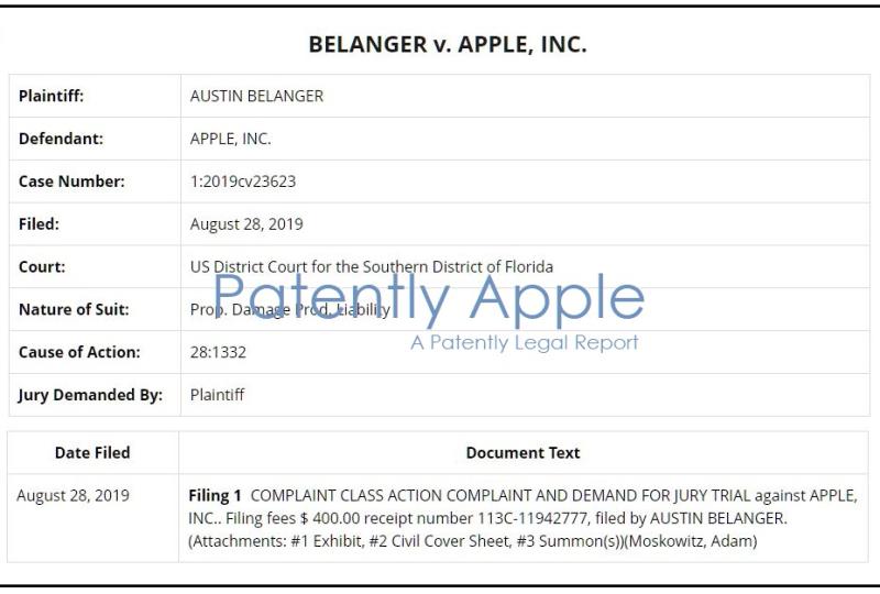 2 X overview Belanger v apple