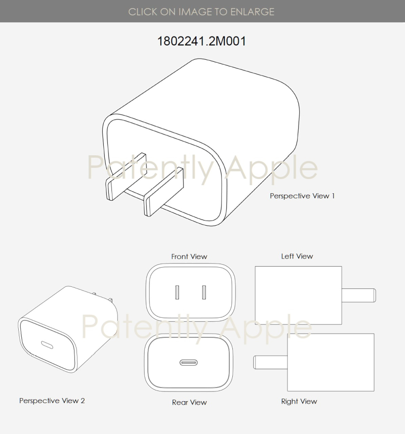 2 US ADAPTER DESIGN PATENT - PATENTLY APPLE IP REPORT APRIL 20 2019