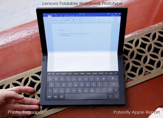 1 Cover - foldable lenovo mini-notebook or foldable tablet