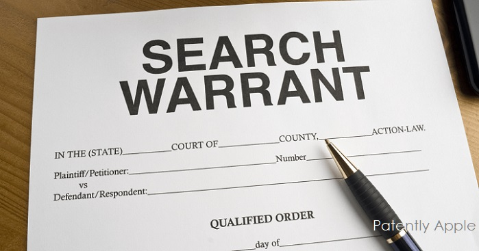 1 XCover - Search-Warrant Graphic